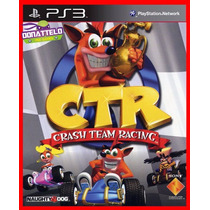 Crash Bandicoot Tag Team Racing Ps3 Codigo Psn Jogo Original