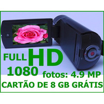 Filmadora Samsung Full Hd 1080 Hmx-q10 Camera Digital 4.9mp