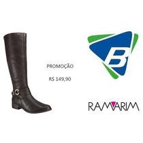 Bota Ramarim Ref-1456103 Café Promoção