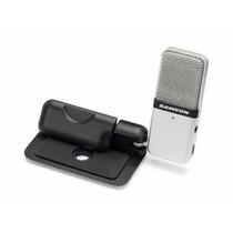 Samson Go Mic - Microfone Condensador Portátil Usb