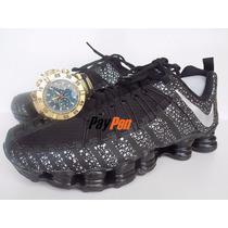 Tênis Nike Total Shox 12 Molas Grátis Relógio