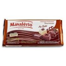 Barra De Chocolate 1kg Ao Leite Mavalério Qualidade Top