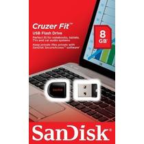 Pen Drive Sandisk 8gb Fit