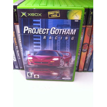 Pgr Project Gothan Racing Xbox Original Americano Completo