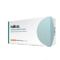 Follixin Fibra Capilar Para Calvície 60 Cáps(mercado Envios)