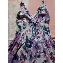 Vestido Floral, Super Leve, Ótimo Neste Verão!!!aproveite!!
