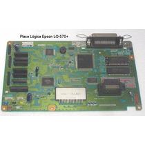 Placa Logica Impressora Epson Lq-570+