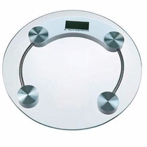 Balança Digital Vidro Temperado 150kg Banheiro Academia Slim