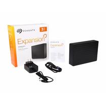 Hd Externo 3tb Seagate Expansion Usb3.0 - 3 Tb Tera