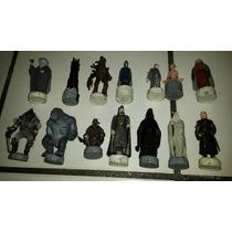 Lote 14 Personagens Senhor Dos Anéis Peças Xadrez Veja Fotos