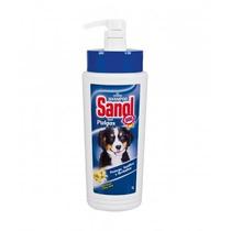 Shampoo Sanol Anti Pulgas 1 Litro Pet, Cães, Dog, Cachorro