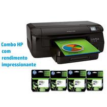 Impressora Jato De Tinta Color Hp Oj Pro 8100dwn 20ppm