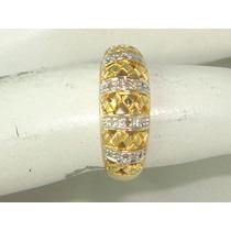 Pocao2005- Anel Ouro 18k750 Diamantes! Frete Grátis!