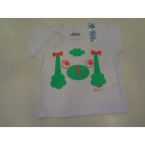 Camiseta Praia Poodle Com Protetor Solar - Cara De Criança
