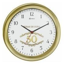 Relógio De Parede Herweg Ref: 6637-253 Bodas De Ouro