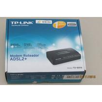 Modem Roteador Adsl2+ Td-8816 - Seminovo