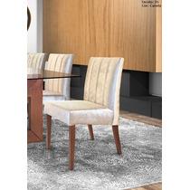 Cadeira Para Mesa De Jantar Voyage Kit C/2 - Móveis Rafana