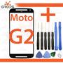 Tela Vidro Lente Moto-g 2 Xt1068 Xt1069 + Cola + Ferramentas