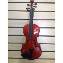 Violino Cantelli 4/4 Can-vo 01 Pr Completo Com Estojo