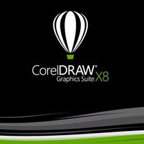 Corel Draw X8 - 32 E 64 Bits - Idioma Português 2 Gigas
