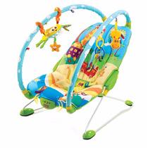 Cadeira De Balanço Tiny Love Gymini Bouncer - Azul/amarelo
