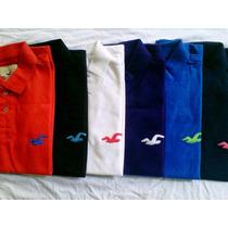 Kit 3 Camisa Camiseta Polo Hollister Abercrombie Masculina