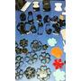 Kit Com 5 Facas Para Fabricação De Chaveirinhos Maq.chinelos