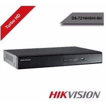 Dvr Hikvision Turbo Hd 16 Canais - Ds-7216hghi-sh