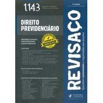 Revisaço Direito Previdenciário - 1.143 Questões 3° Ed. Inss