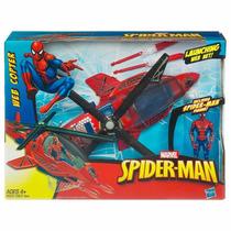 Boneco Novo Homem Aranha Web Copter Original Hasbro