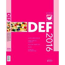 Livro Def 2016 Dicionário Especialidades Farmacêuticas Novo