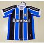 Camisa Oficial Do Grêmio 2015 Game Tricolor 3 Geromel
