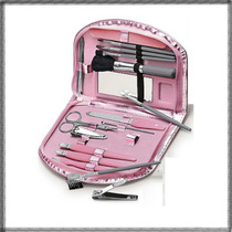 Estojo De Acessórios Para Unha E Kit Pincéis Luxo Avon ©