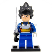 Vegeta Dragon Ball Z - Zhiao Compatível Com Lego