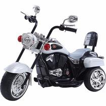 Moto Elétrica Infantil 6v-4,5ah Prata Brink+
