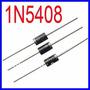 Diodo Retificador 1n5408 800v 3a - Kit Com 10 Pçs