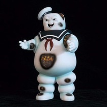Action Figure Ghosts Busters Caça Fantasmas Stay Puft Marshm