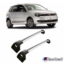 Rack De Teto Travessa Polo Hatch Sedan Projecar Prata