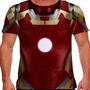 Camiseta Homem De Ferro Traje Mark 42 Masculina
