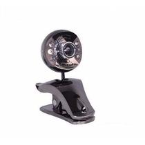 Web Cam Microfone Integrado Visao Noturna 1.3 Mp Mesa/ Pc