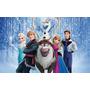 Painel De Festa Frozen Aniversário Infantil (1,20 X 1,80m)