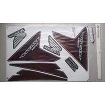 Kit Adesivos Honda Titan 150 Esd Ex 2014 Preta