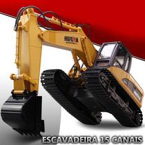 Pc Escavadeira De Controle Remoto Rc 15 Canais Funções Linda