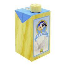 Comidinhas, Leite - Brinquedo De Madeira
