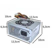 Fonte Mini Atx 300w P/ Pc Dell, Hp, Positivo... C/ Garantia