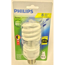 Lâmpada Fluorescente Compacta Espiral Philips 20w 127v E27