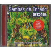 Cd Sambas De Enredo-carnaval 2016 (especial) Rio De Janeiro