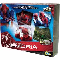 Jogo Da Memória O Espetacular Homem Aranha Marvel Toyster