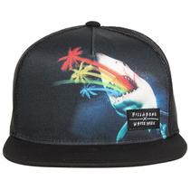 Boné Trucker Billabong Original Ajustavel Snapback Hat