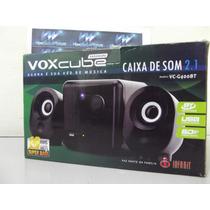 Caixa De Som Sub Woofer 2.1 Satélite 160w Rms P2 Notebook Pc